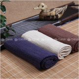 Super soft and strong absorbent double-layer cotton tea towel plus thick cotton linen tea ceremony tea cloth Japanese tea set cleansquare rag