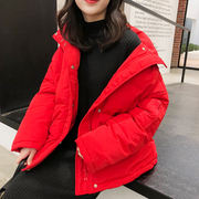 K sister homemade closed eye into cotton clothing five color optional double pocket long sleeve short paragraph cashmere cotton padded jacket female