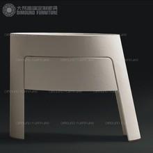 大梵高端定制美式现代简约实木卧室床头柜 欧法式角几角柜 FD101