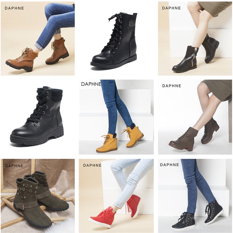 女式时尚雪地靴