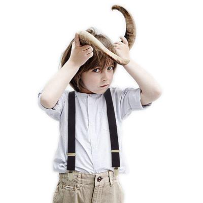 儿童背带夹男孩小孩裤子吊裤带防滑男童女孩宝宝幼儿弹力可调节