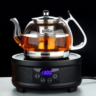 玻润玻璃茶壶电磁陶炉专用煮黑茶烧水耐热加厚泡花茶普洱器具包邮