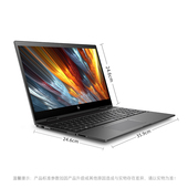 HP/惠普 envy X360 15.6英寸轻薄笔记本电脑 360度翻转触控变形本 八代CPU MX150 4G独显 黑金银色版本可选