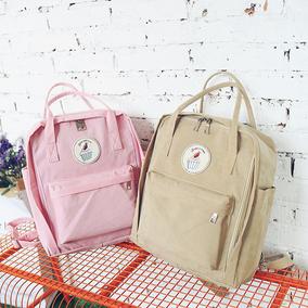 韩国原宿复古日系少女软妹卡通可爱百搭学院风双肩包学生书包背包