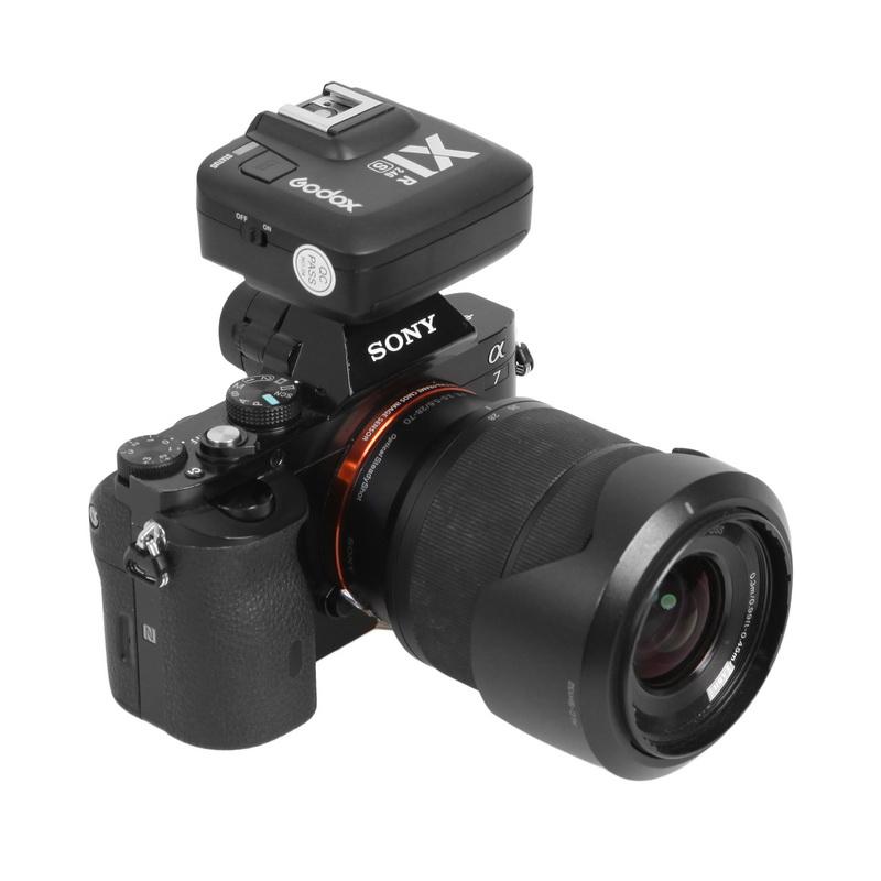 神牛X1R-S单接收器触发器2.4g高速接收器适用于佳能尼康索尼相机