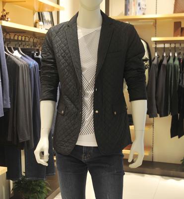 品牌男装外套秋冬款专柜正品中年男士商务休闲单衣夹克3DXD131YA