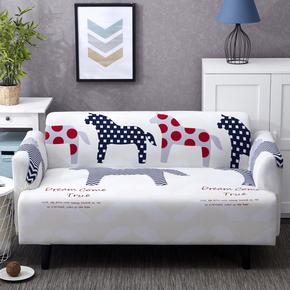 客厅简约现代万能弹力沙发套全盖全包贵妃组合沙发罩四季通用布艺