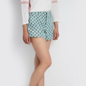 美国正品 Club Monaco 女士时尚格子短裤 2309 322