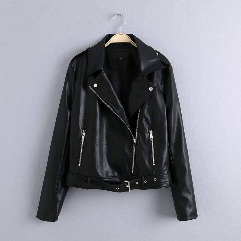 Женские кожаные куртки Артикул 594406214309