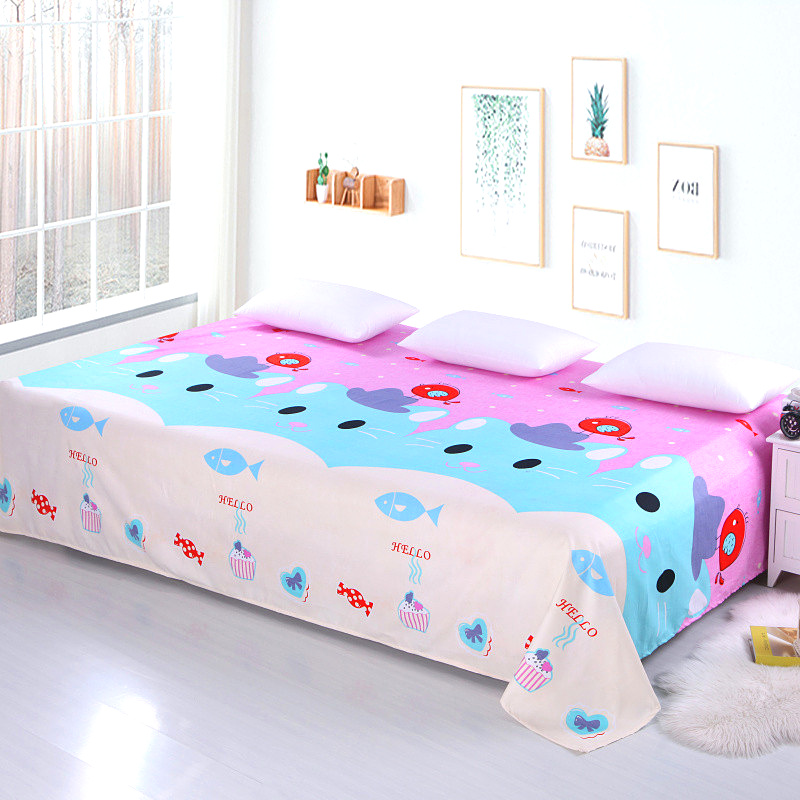纯棉超大床单