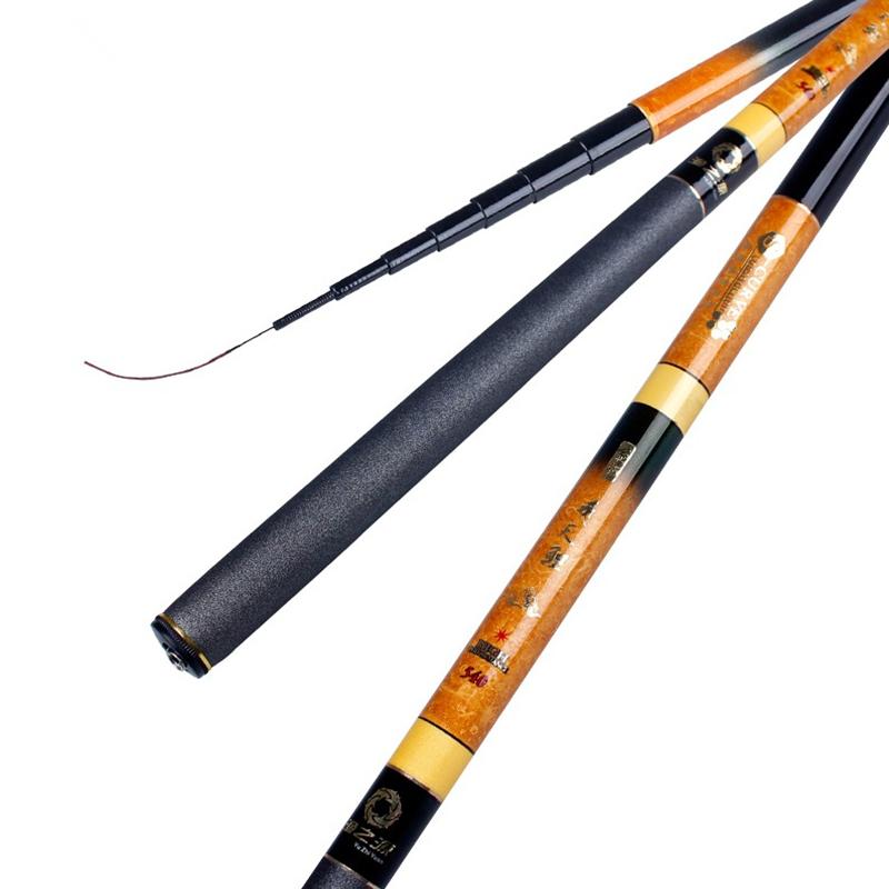 硬调碳素溪流竿短节3.6 4.5 5.4 6.3 7.2米钓鱼竿台钓竿手竿渔竿