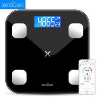 Intelligent body fat called household small adult precision electronic scales cute weight scale body weight loss test fat female
