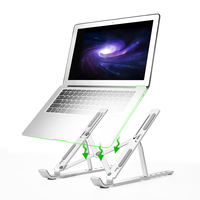 Nokia N3 laptop stand aluminum alloy desktop increase bracket radiator cervical folding portable Apple MacBook portable base lift