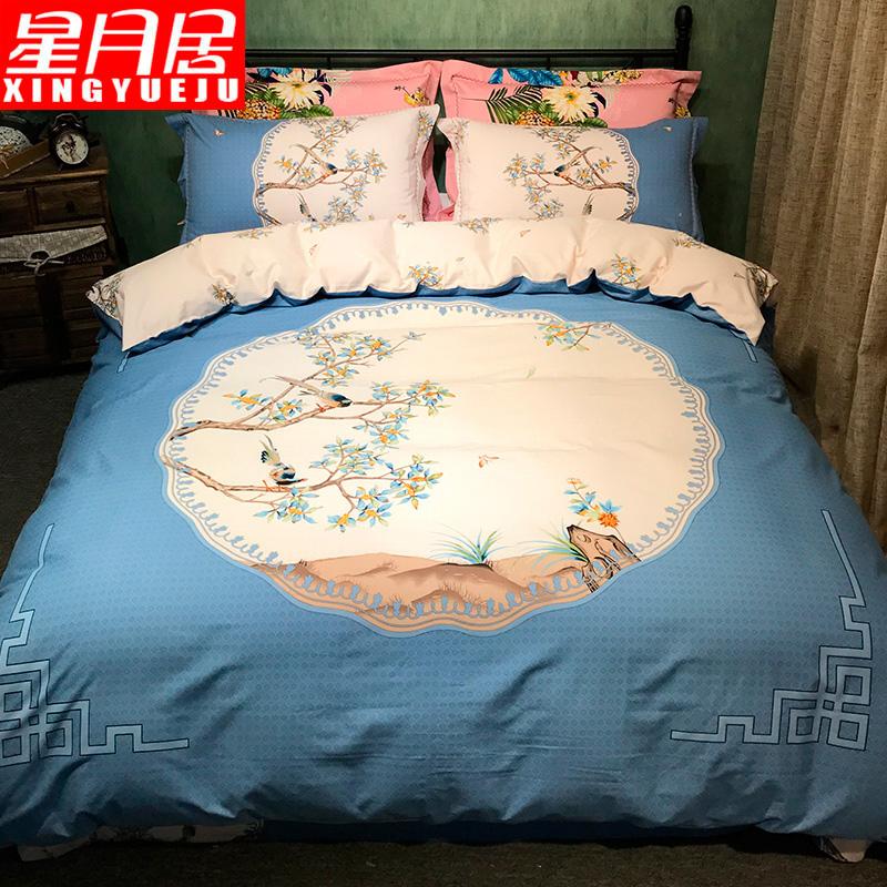 全棉保暖床单被套