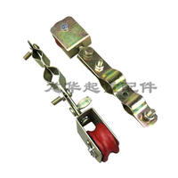 Driving cable hanging wire pulley Crane Electric hoist cable line hanging wire pulley Long clip hanging wire pulley