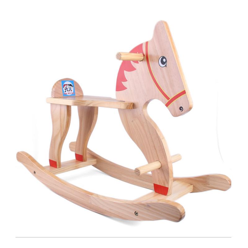 儿童摇摇马纯实木马车成人骑马1-8周岁宝宝礼物男女孩小摇椅玩具