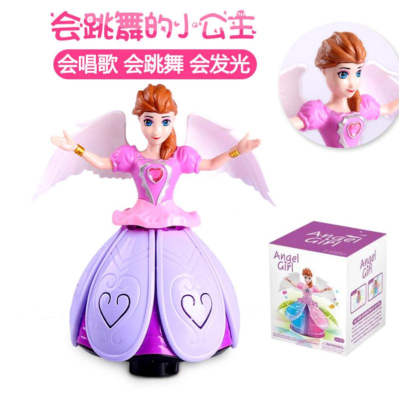 女宝宝玩具女孩1-3岁4-6岁会跳舞唱歌儿童玩具女童2音乐益智礼物5