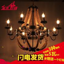 美式复古酒吧咖啡厅吊灯客厅卧室过道吊灯工业风格吊灯