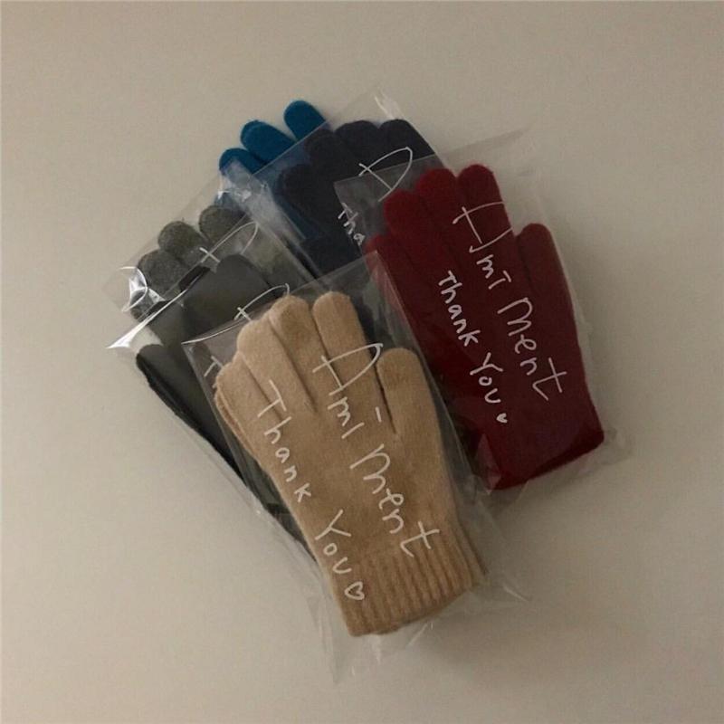 Мужские вязаные перчатки Артикул 583044366221