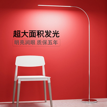 床头灯led欧式落地灯客厅立式台灯美式复古创意卧室温馨遥控调光