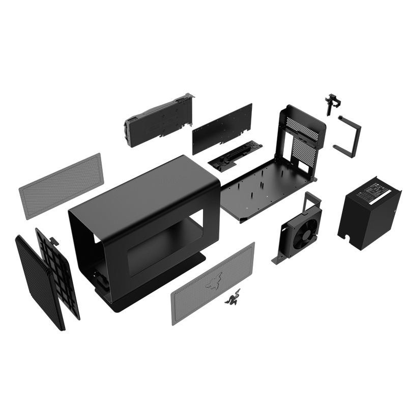 Razer雷蛇Core战核X雷电3外置显卡盒外接扩展坞游戏笔记本电脑mac