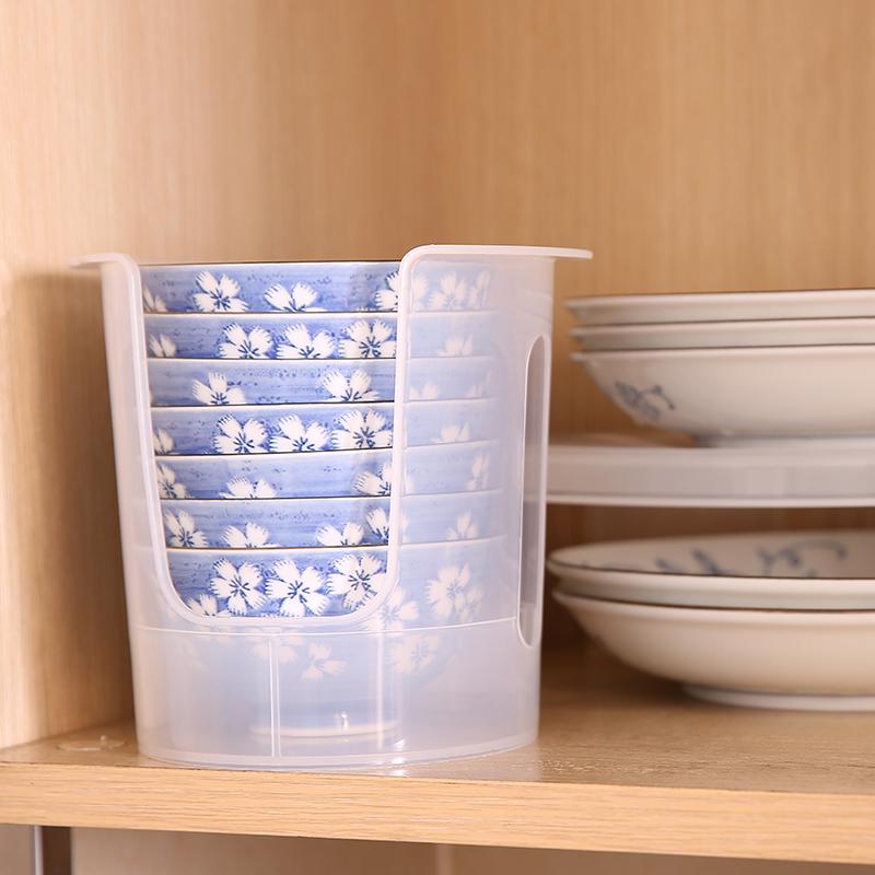 日本进口厨房收纳架置物架碗筷收纳盒碗碟餐具沥水架碗架水槽沥水