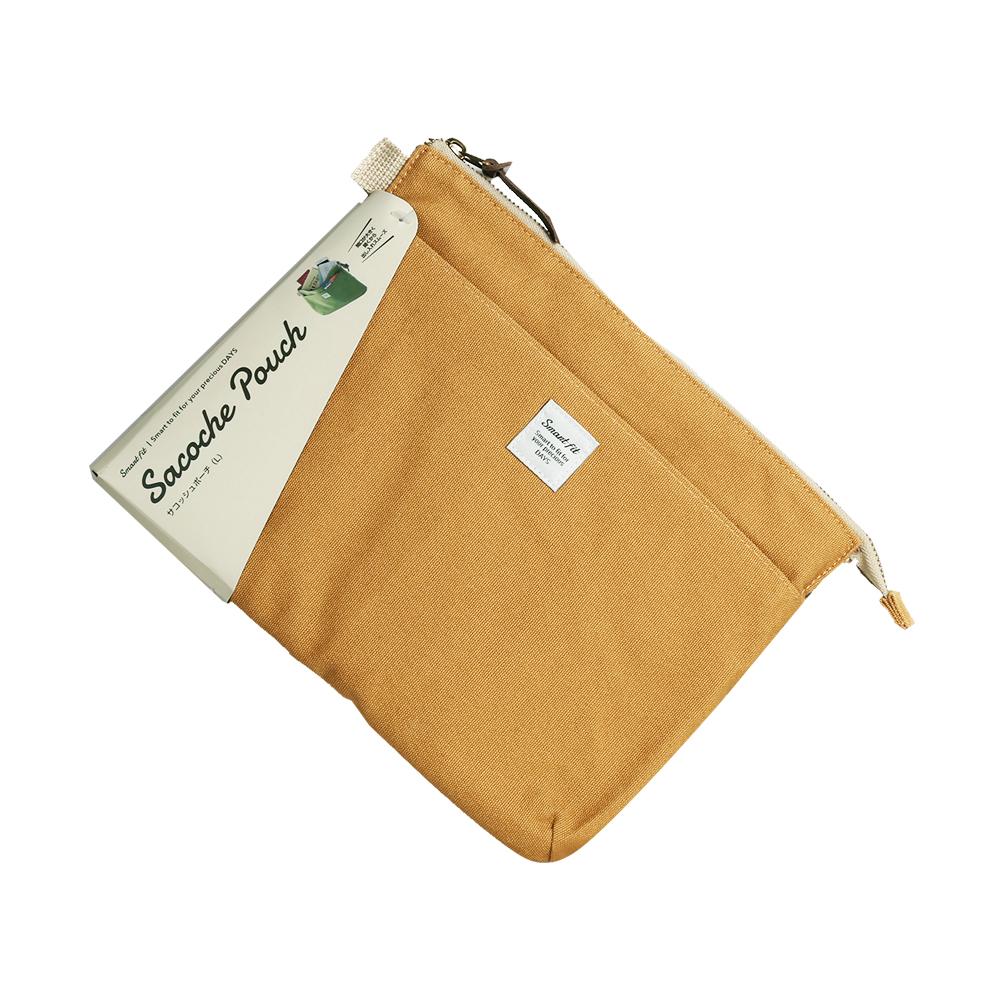 日本LIHIT LAB. Sacache Pauch系列多功能收纳包A-7706棉布随身包