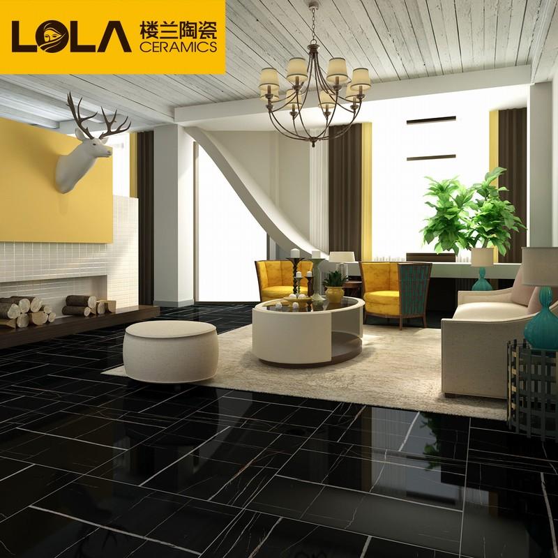 楼兰瓷砖 客厅地砖大理石800 800地砖 防滑欧式瓷砖 大理石地砖