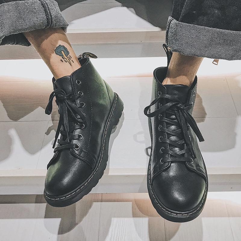 靴子男黑色