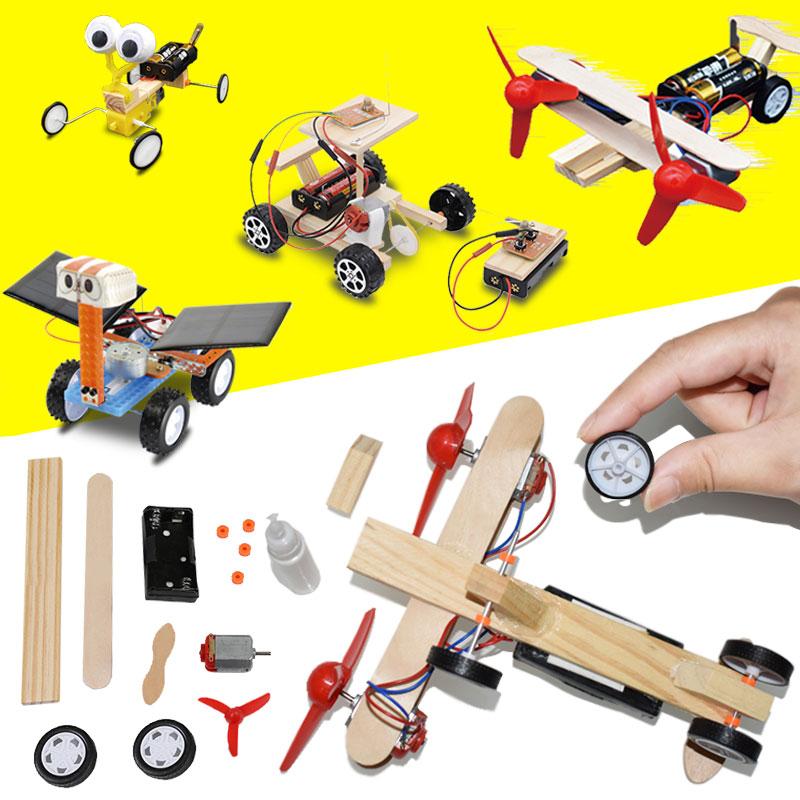 儿童趣味科学小实验小制作手工diy创意玩具学生科技发明材料套装