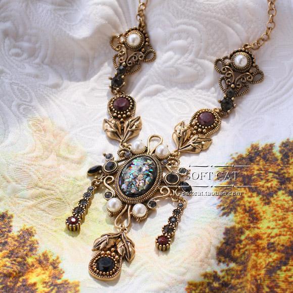古董珠宝 项链