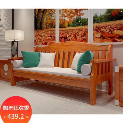 实木沙发椅实木长椅