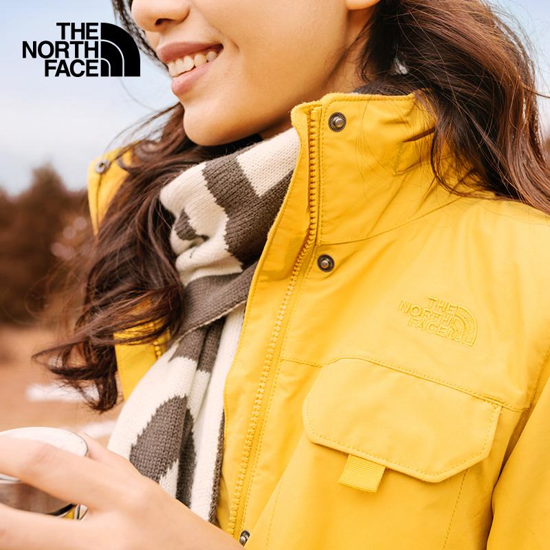 2020春夏新品TheNorthFace北面冲锋衣女户外防风透气保暖外套497C