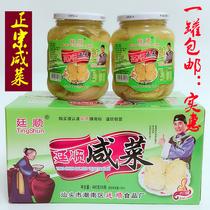 潮汕特产廷顺咸菜480g传统腌制地都泡菜香脆可口酸菜广东包邮