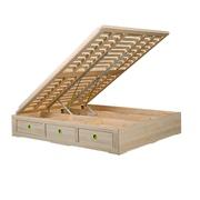 正品松堡王国青少年儿童芬兰松实木家具 SP-C031 箱体床