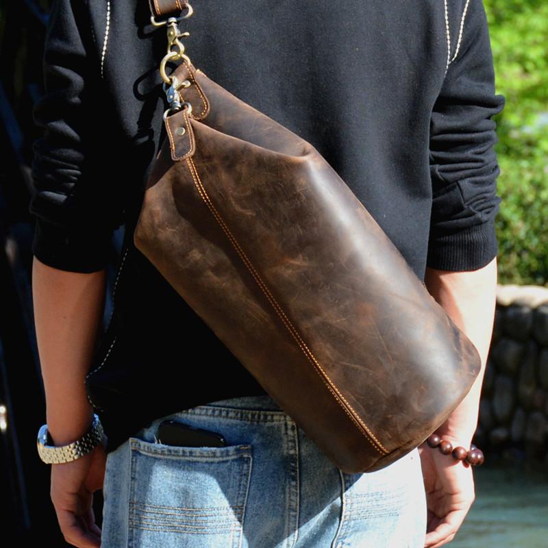 Мужские рюкзаки через плечо Артикул 590422584310