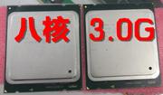 至强E5 3.0G cpu 八核8核16线程X79睿频3.3G超I7 3960X i7 3770k