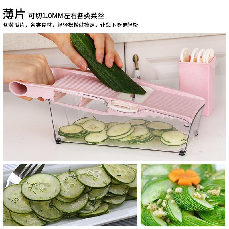 拜格家用土豆丝切丝器厨房用品多功能切菜擦刨丝水果切片切菜神器