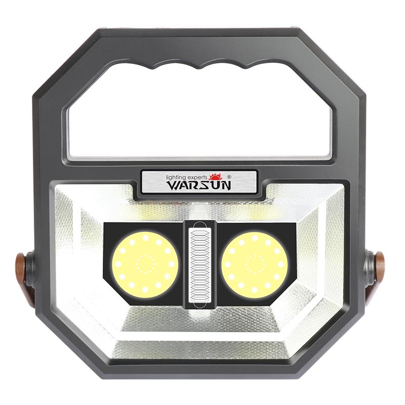 LED充电投光应急灯超亮照明户外露野营便携式强光家用帐篷停电摊