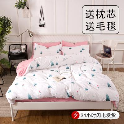 床单枕套四件套性价比高吗