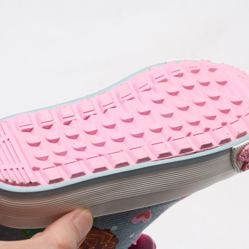 上新儿童鞋子女童棉鞋2017新款加绒儿童帆布鞋公主鞋二棉冬靴