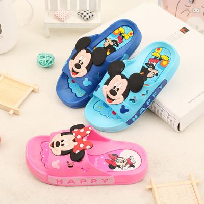 儿童凉拖鞋夏男童女童男孩室内浴室居家防滑卡通可爱宝宝小孩凉拖