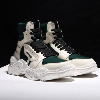 梅西空军一号高帮运动男鞋韩版潮流英伦马丁靴新品百搭潮靴子