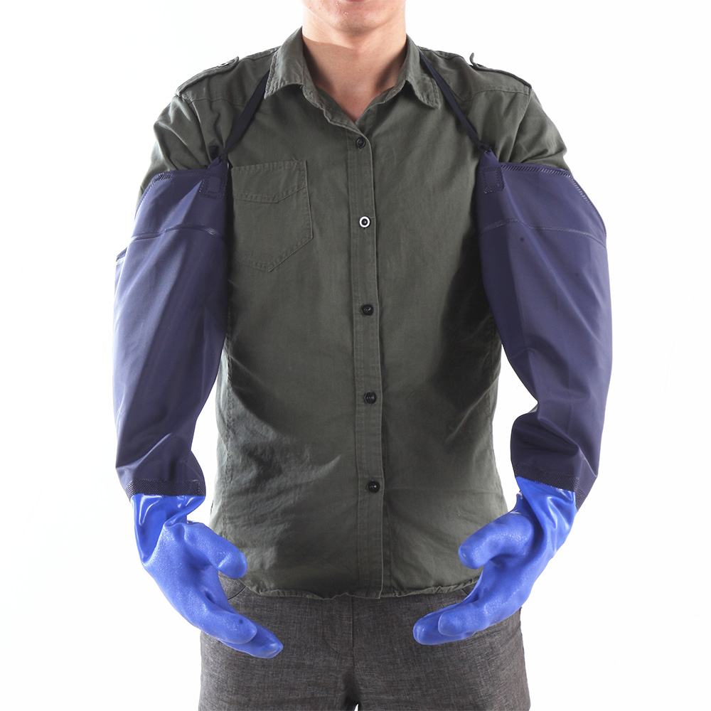汽车清洗专用洗车手套防水冬季加厚加绒工具用品冬天毛绒擦车手套
