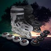 冰刀鞋 直排轮平花鞋 HK冰球鞋 男女成年人滑冰鞋 溜冰轮滑鞋 花样冰刀