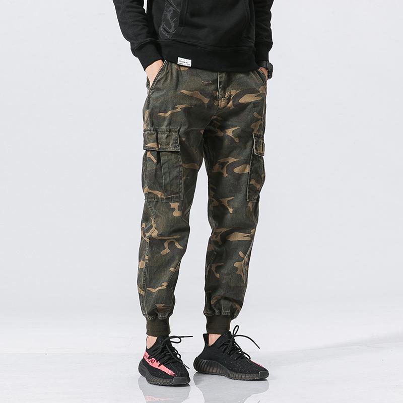 军旅迷彩长裤