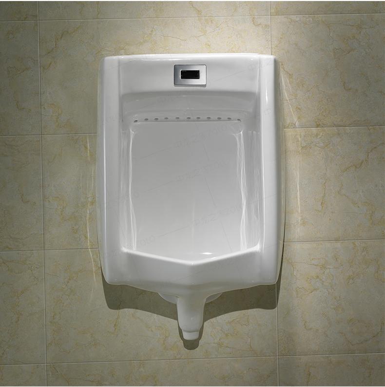 惠达卫浴全智能自动感应小便斗HDU718A男士挂式小便池陶瓷小便器