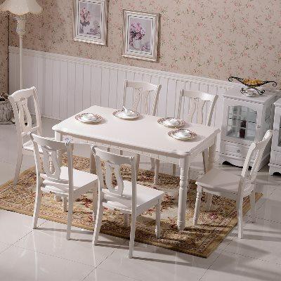 欧式餐桌椅田园韩式餐桌椅打折促销