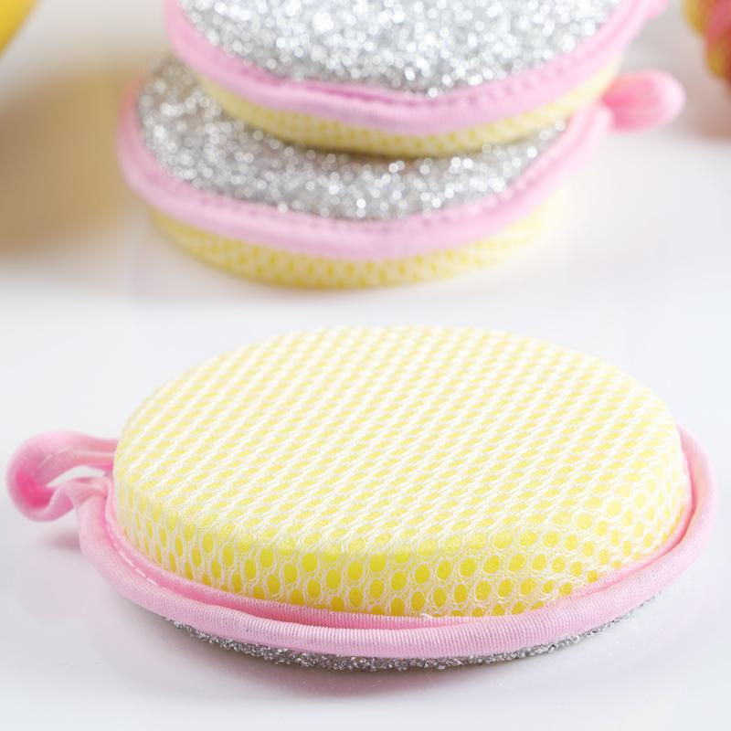 加厚百洁布洗碗布厨房清洁海绵擦不沾油洗锅刷碗刷锅神器洗碗海绵