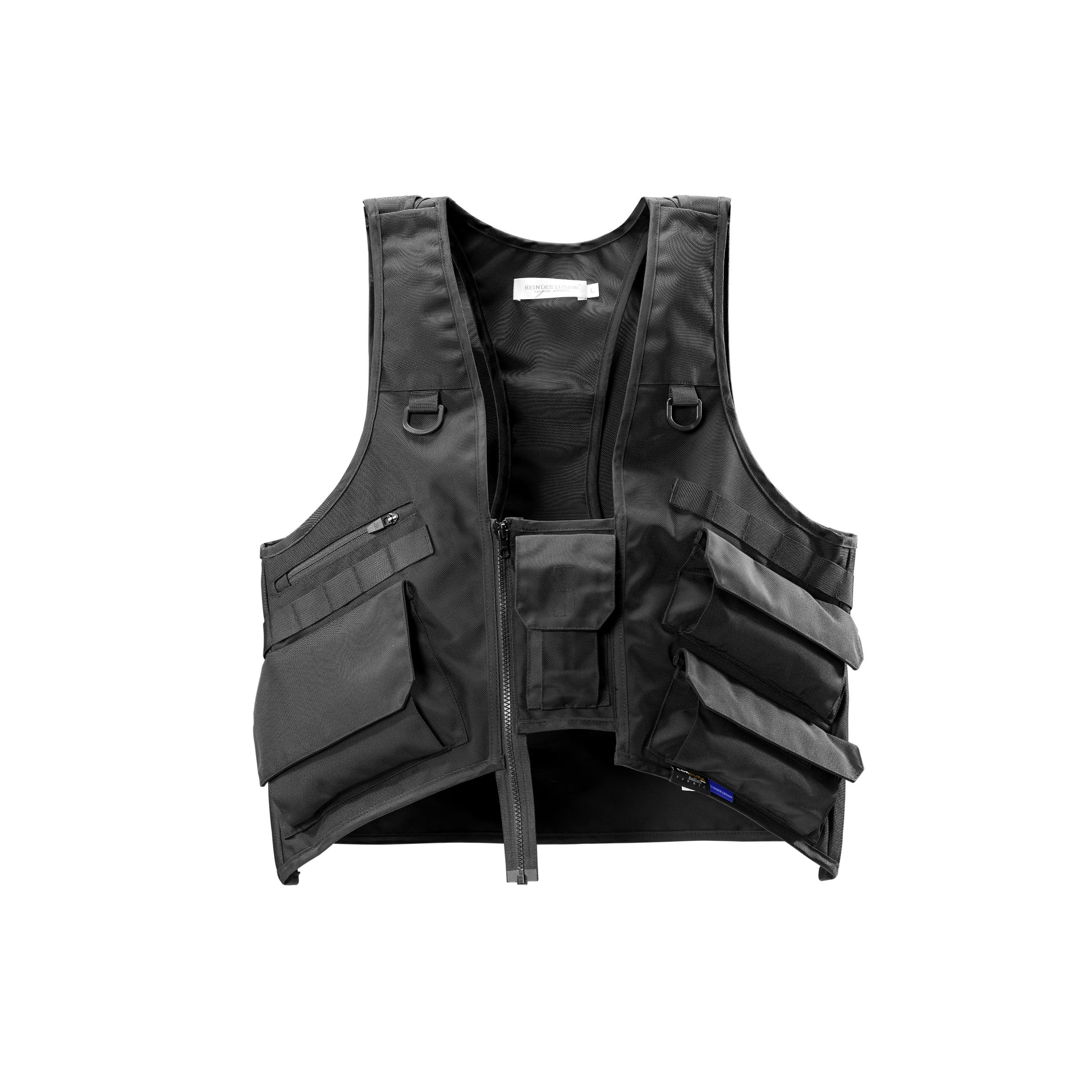 RL | REINDEE LUSION 19S/S 立体U形剪裁多口袋功能马甲